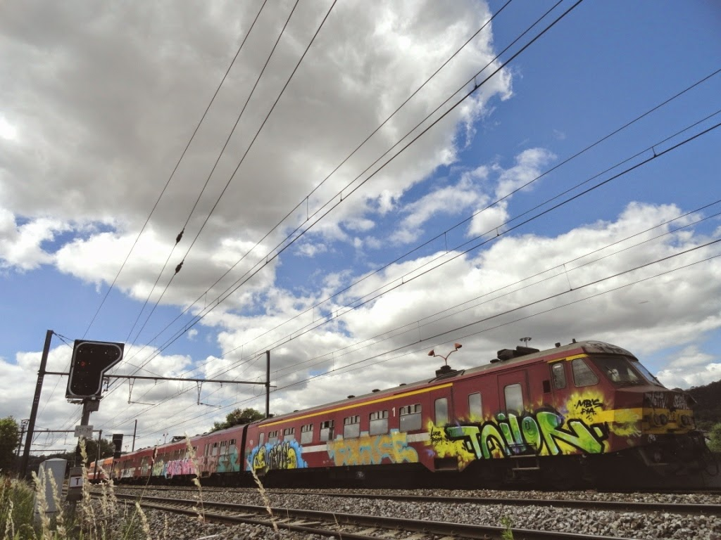Graffiti-train