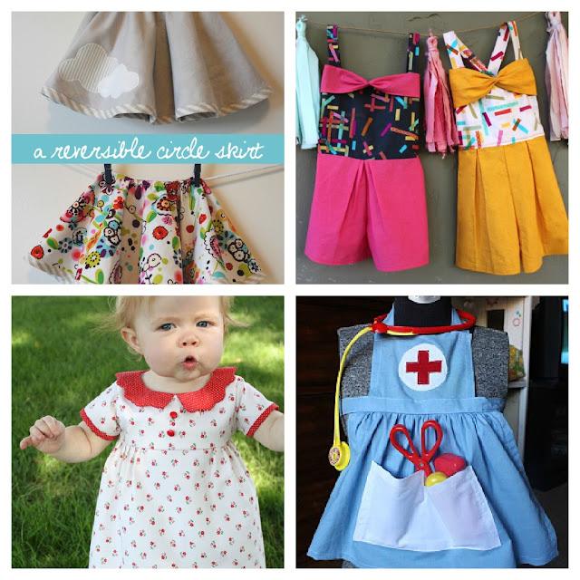 baby little girl sewing tutorial retro vintage costume Just Peachy, Darling