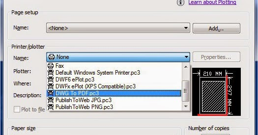 autocad plot to pdf creates no file