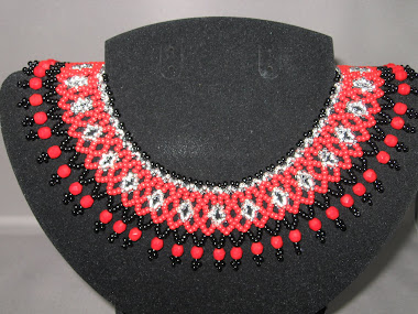 Red black and silver gerdan #8