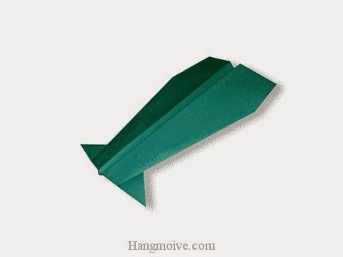 Cách gấp, xếp máy bay curtiss P-36 Hawk bằng giấy origami phi xa, cao, bay lâu mãi không rơi - Video hướng dẫn xếp hình máy bay - How to fold a paper airplane 3