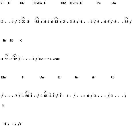and this is notation the song of music