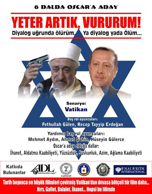 Dinler arası diyalog konusunda yeni bir yapıt: YETER ARTIK, VURURUM!  Fethullah Gülen - Recep Tayyip Erdoğan