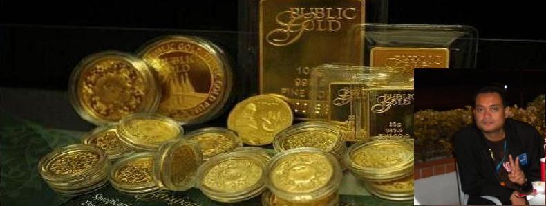 Sana Emas, Sini Emas, Segalanya Emas : Biar Kita menjual EMAS, Jangan kita terjual kerana EMAS