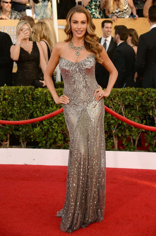 Sofia Vergara in Donna Karan at the SAG awards