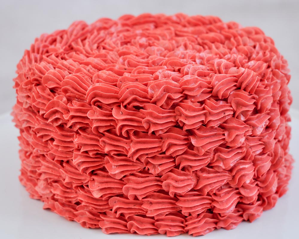 Cake Decorating Basics Easy Ruffle