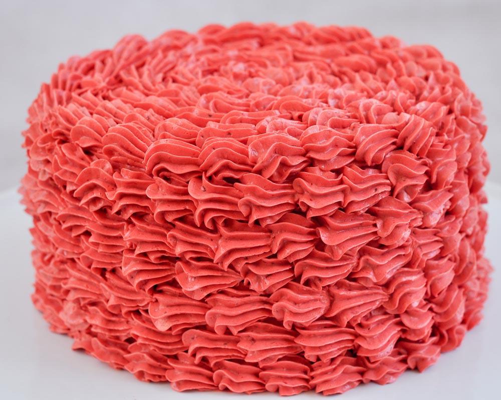 Cake Decorating Basics: Easy Ruffle Cake