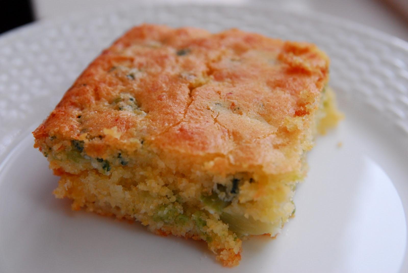 Bites: Broccoli Cheese Cornbread