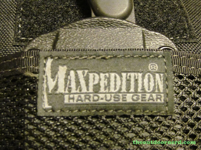Maxpedition EDC Pocket Organizer - Front Tag