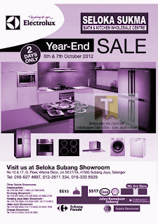 Electrolux Year-End Sale 2012