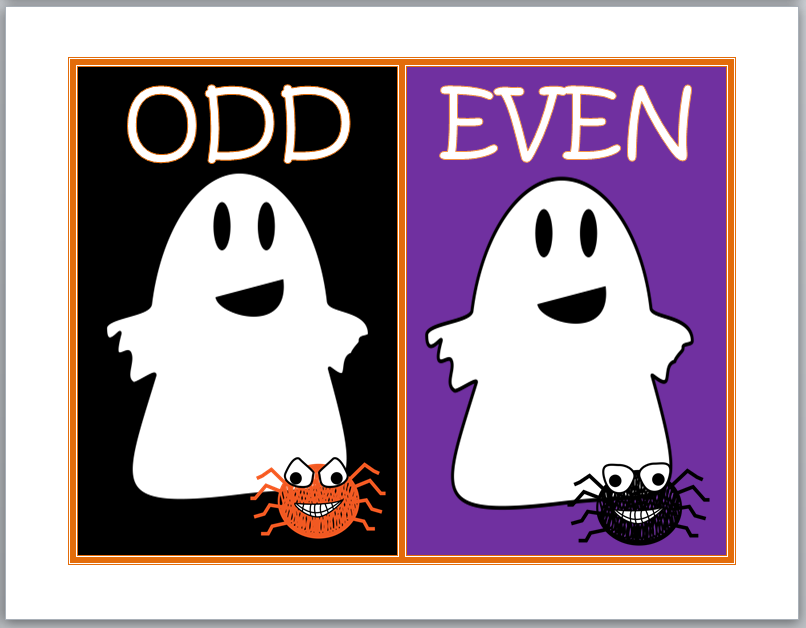 http://www.teacherspayteachers.com/Product/Friendly-Ghosts-Odd-and-Even-Sort-319679