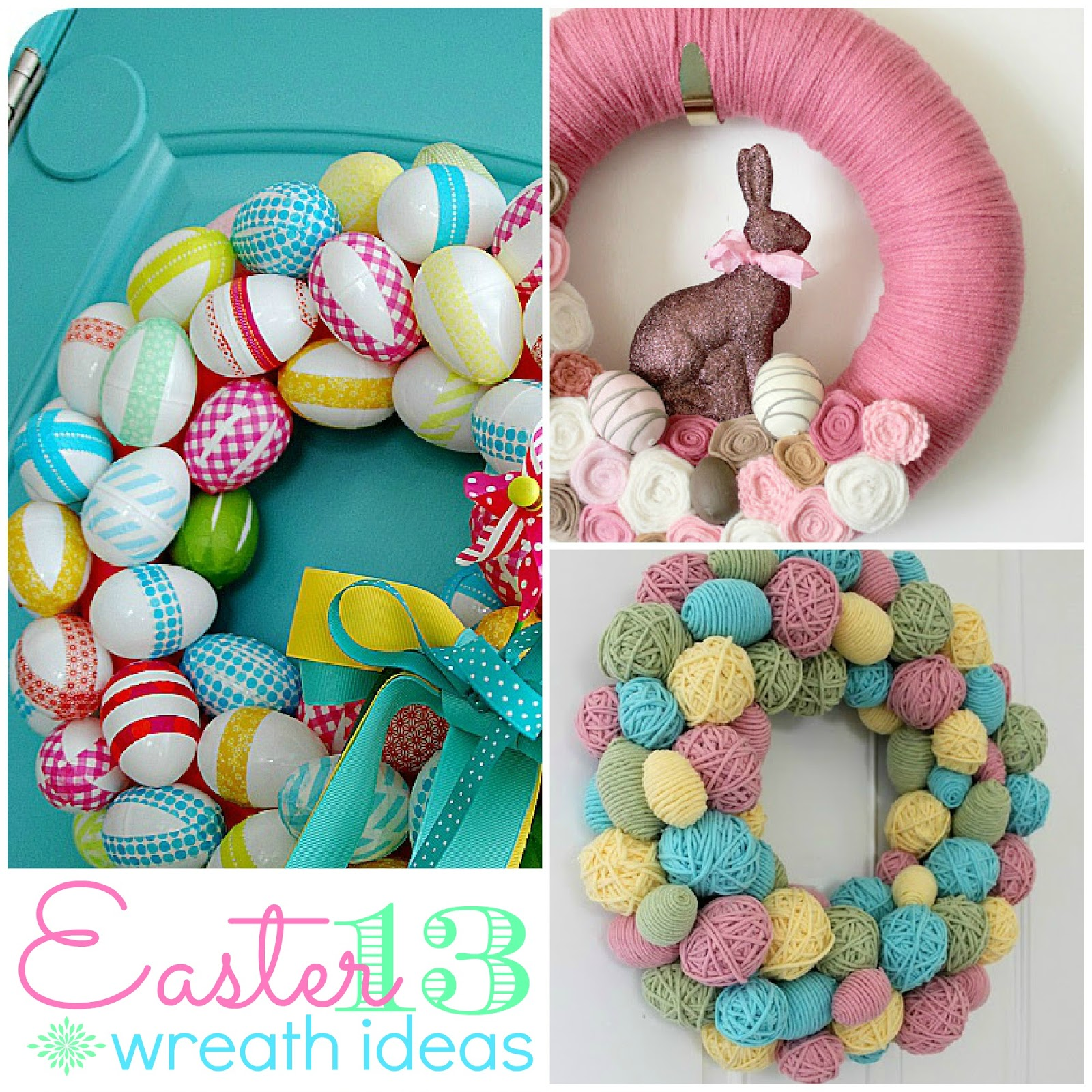 13 Easter Wreath Ideas The Crafted Sparrow