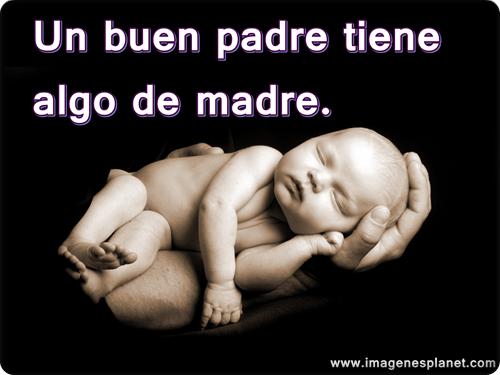 Imagenes tiernas de beb s con sus padres con frases imagui - Un buen regalo para mi madre ...