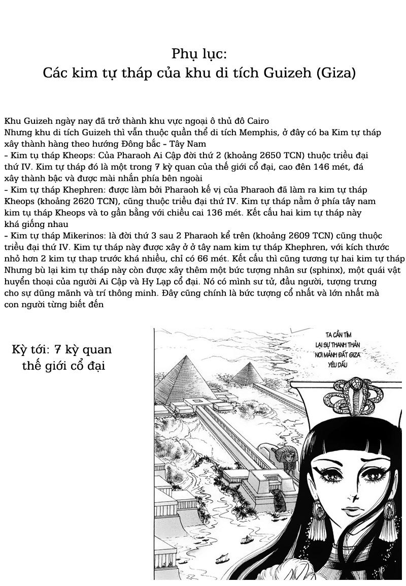 Nữ Hoàng Ai Cập-Ouke no Monshou chap 51 Trang 34 - Mangak.info