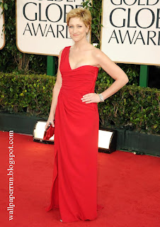 Actress Edie Falco arrives at the 68th Annual Golden Globe Awards in Beverly Hills