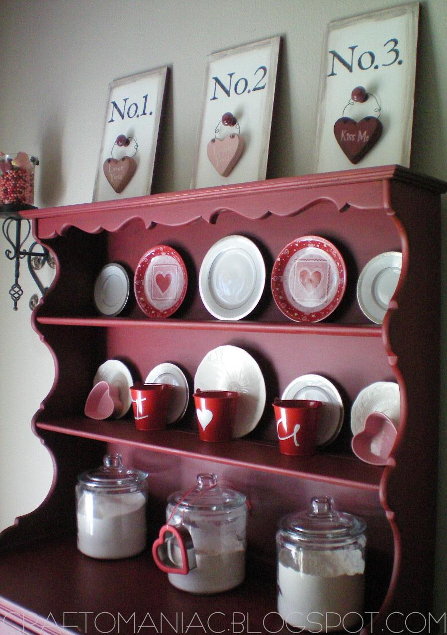 Valentine Decor The Hutch Craft O Maniac