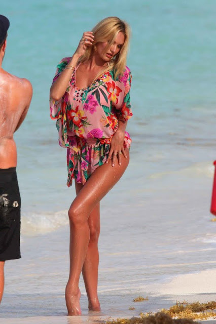 Candice Swanepoel – Victoria's Secret Bikini Photoshoot in St. Barts