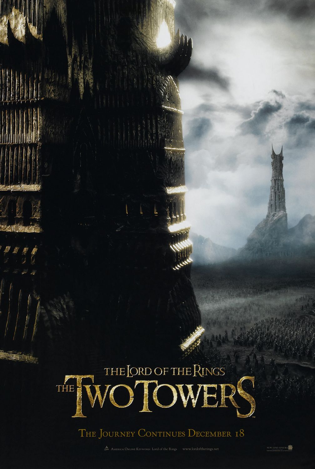 Chúa Tể Những Chiếc Nhẫn 2: Hai Tòa Tháp - The Lord Of The Rings 2: The Two Towers