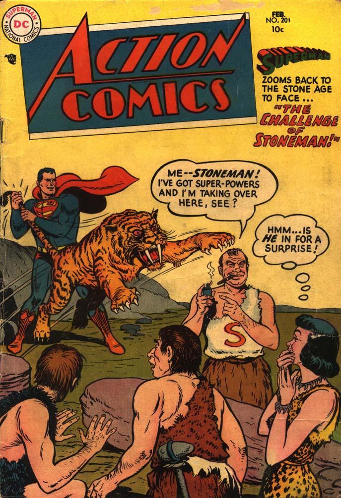 Action Comics (1938) 201 Page 1