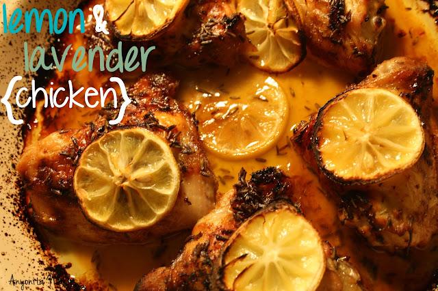 Lemon and Lavender baked chicken| Anyonita Nibbles