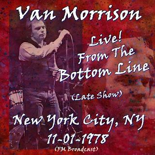 Van Morrison, Bottom Line, NY, The Late Show 11-01-1978 (FM)