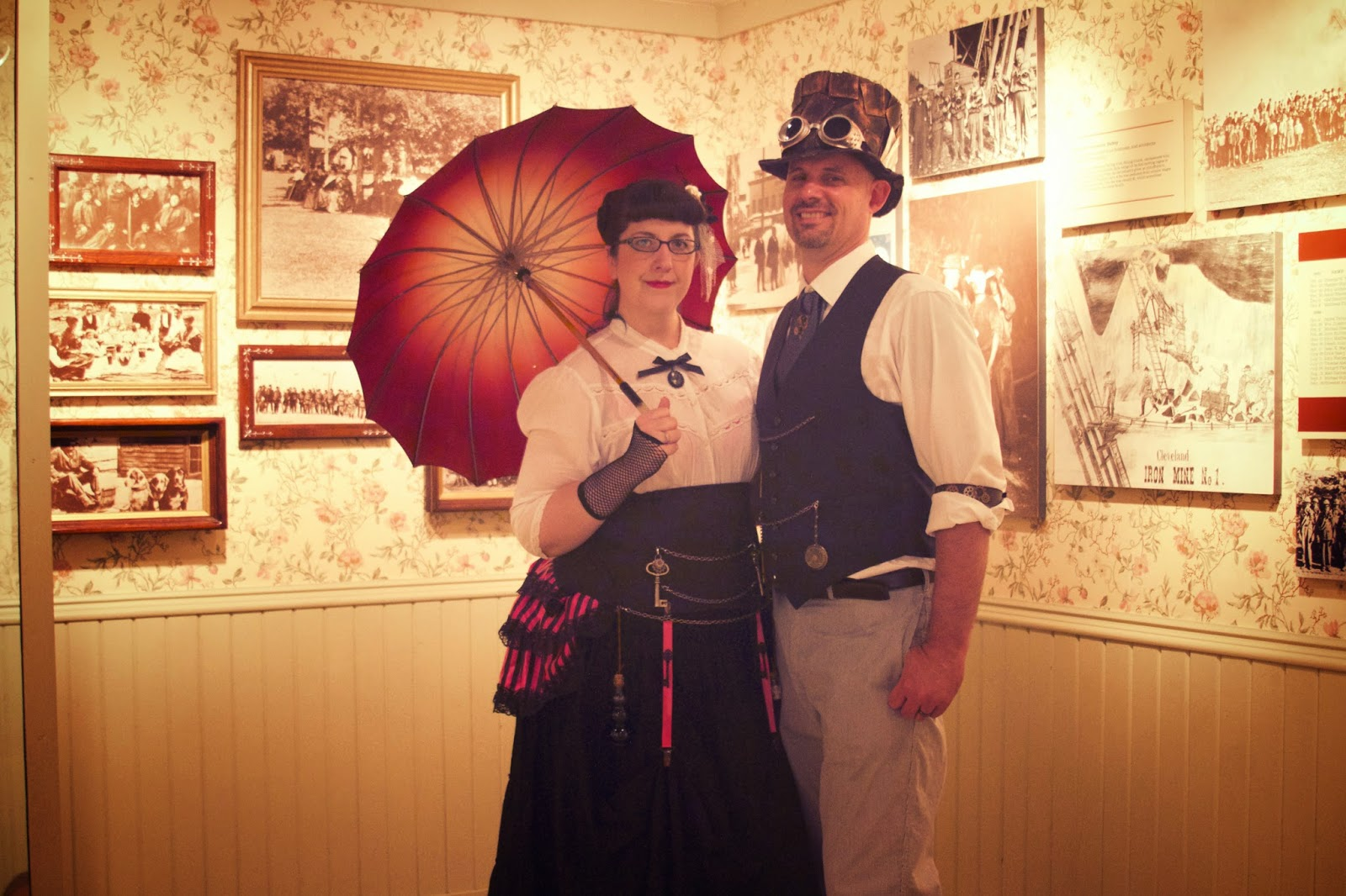 Steampunk adventures, Michigan Historical Museum. Photos by Tammy Sue Allen Photography.