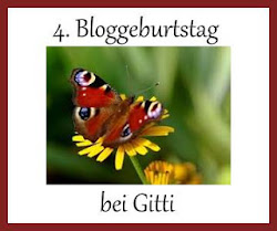 4ter Bloggergeburtstag bei Gitti