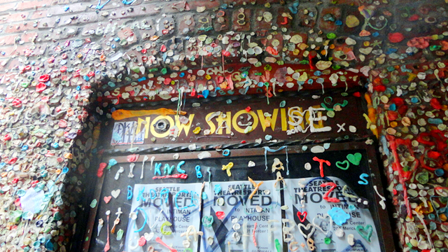Washington Seattle Pike Place Gum Wall
