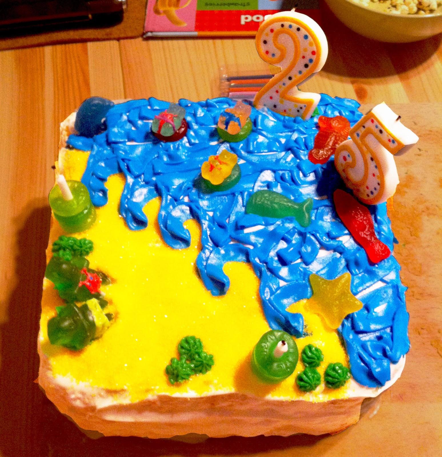 Gummy Bear Beach Party Birthday Cake Beenes Baking Blog