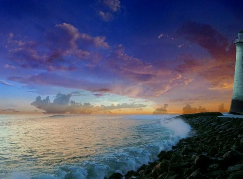 Im genes arte pinturas paisajes atardecer en playa - Cuadros de atardeceres ...