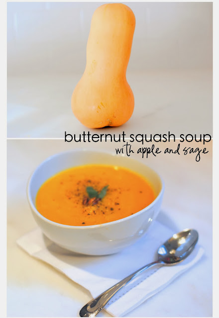 Butternut Squash Soup ...With Apple and Sage (See Jane Make) - See ...
