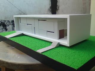 Maquetas casas minimalistas for Casa minimalista maqueta