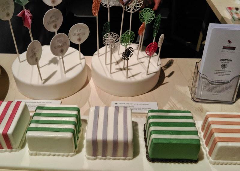 Landtmann Kollektion Tortenmesse Wien