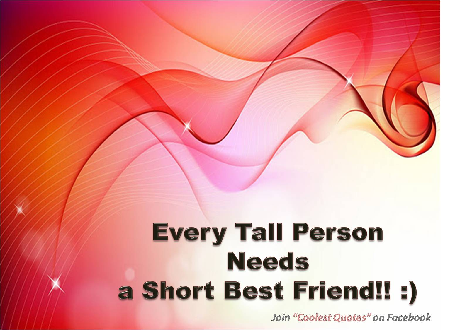 Quotes For Tall And Short Friends : More than sayings tall person needs a short best friend