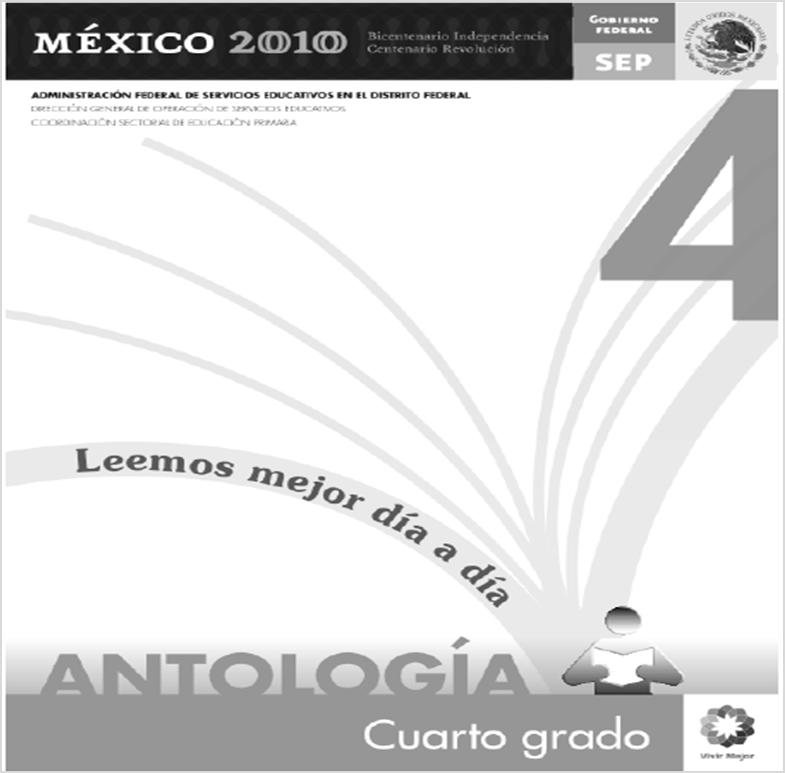 Antología de lecturas para Cuarto Grado