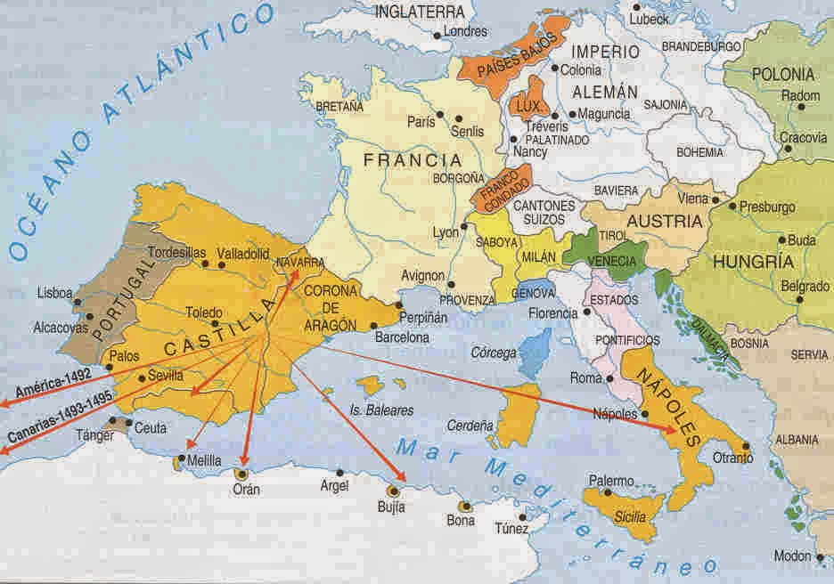 Borderline un mundo on rico historia de espa a 2 for La politica exterior de espana