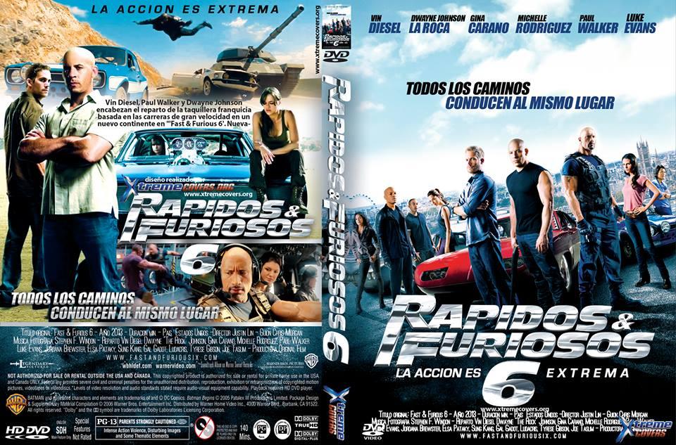 Rapido y Furioso 6 (2013) Dvdrip Español latino