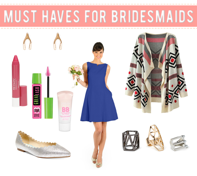 Must Haves For Bridesmaids - Little Lady Little City