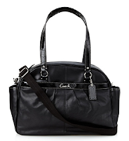 MyHabit: Up to 60% off Coach Baby Bags: Addison Leather Baby Bag Tote - Soft leather with glossy patent trim, 4 outer and 7 inner pockets for organization