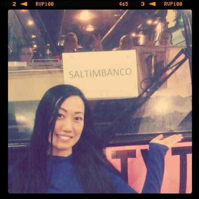 Trisha Claudine Sebastian in Saltimbanco of Cirque du Soleil