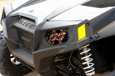 Polaris RZR LED replacement headlight