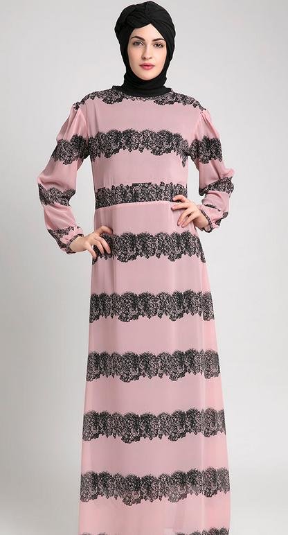 Model Baju Muslim Gamis Untuk Orang Gemuk