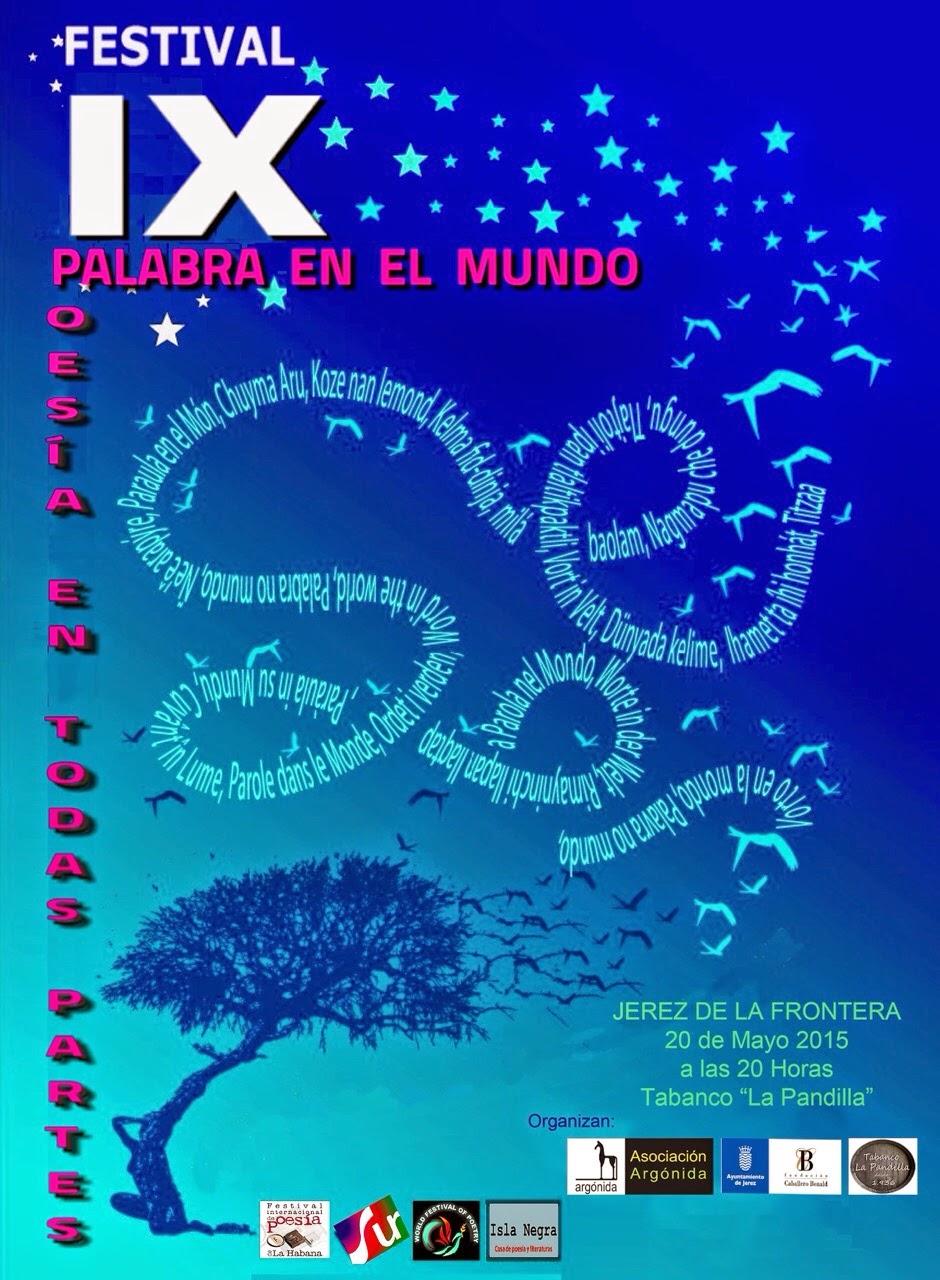 "IX Festivel ""Palabra en el Mundo"""