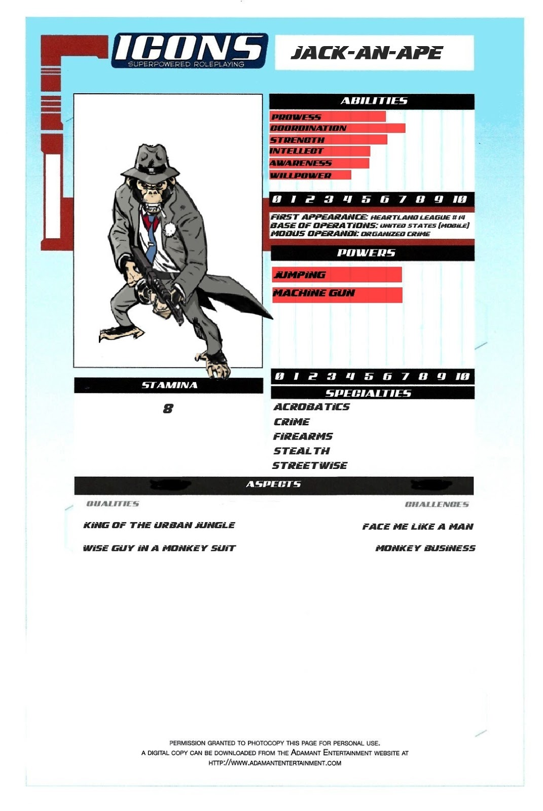 besm 3rd edition character sheet