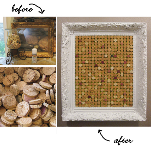 Healthy Wealthy Moms Cork Craft Projects