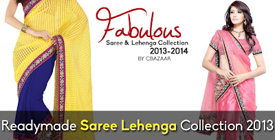 Readymade Saree Lehenga Collection 2013-2014