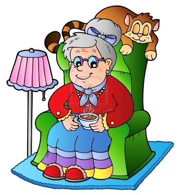 Ecos de los altos corran llego la abuela for Schaukelstuhl nonna