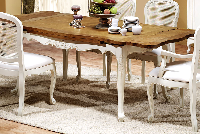 Mesas de comedor por la decoradora experta mesas en - Mesas comedor extensibles madera ...