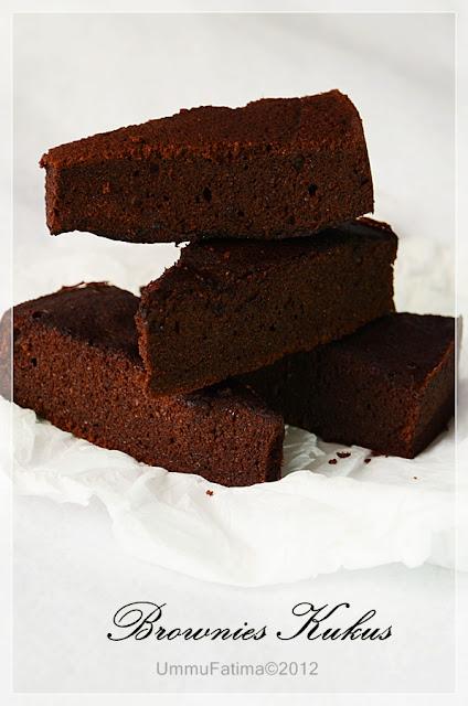 brownies kukus sehat Pak Wied Harry gluten free