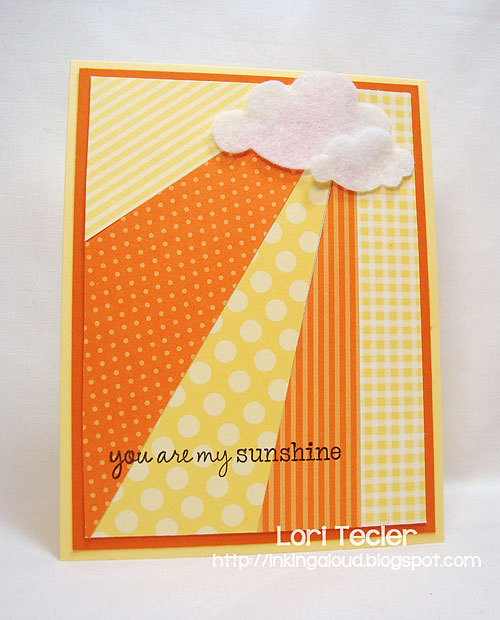 You Are My Sunshine-designed by Lori Tecler-Inking Aloud-stamps from Waltzingmouse Stamps